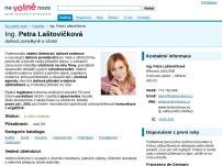 Účetnictví Laštovičková