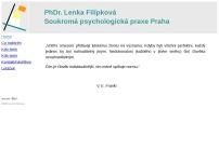 PhDr. Lenka Filípková – Soukromá psychologická praxe