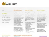Grafické studio - Licker.cz