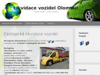 Likvidace vozidel Olomouc