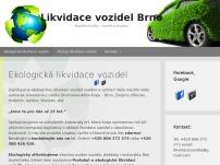 Likvidace vozidel BRNO
