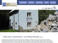 Lom Matula Hlinsko, a.s.
