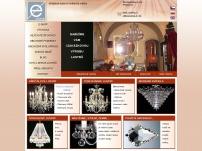 Křišťálové lustry & Svítidla -  VESTE GLASS