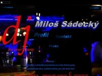 DJ for your party – Miloš Sádecký