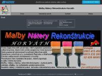 Maľby-Nátery-Rekonštrukcie-Horváth