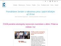 Mamma Help - sdružení pacientek s nádorovým onemocněním prsu, o. s.