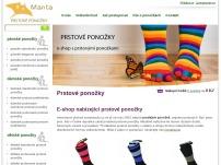 MANTA – prstové ponožky
