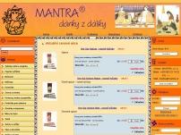 MANTRA – dárky z dálky