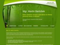 Lektor, cvičitel a terapeut – Martin Bartošek