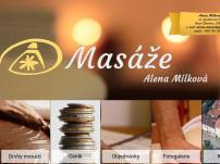 Alena Mílková - Masáže