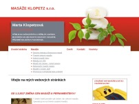 Masáže Klopetz, s.r.o.