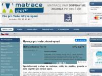 Matrace store - vše pro zdravé spaní