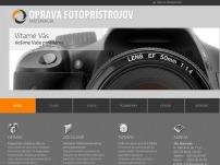 Oprava fotoaparátov – fotoservis