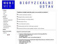 Biofyzikální ústav Lékařské fakulty
