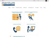 MERITUM SOFTWARE s.r.o. – databáze, software na zakázku