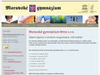 Moravské gymnázium Brno, s.r.o.
