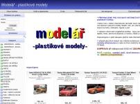 Modelář - plastikové modely