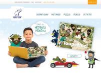 MODRÝ SLON s. r. o. - osobní knihy pro děti