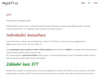 EFT terapie Mgr. Martina Přichystalová