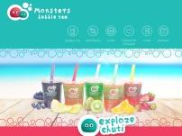 Monsters bubble tea