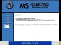 Ing. Milan Svateník MS - ELEKTRO