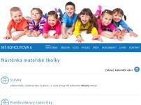 Mateřská škola Kohoutova 6