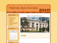 MŠ Brno, Skořepka