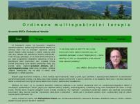 Ordinace multispektrální terapie  docenta MUDr. Bohuslava Hanuše