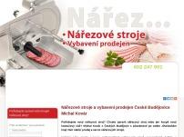 Nářezové stroje - Michal Kovár