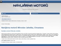 Navijárna motorů Miroslav Jahelka