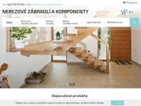 LIVE HOME - nerezové zábradlí a komponenty