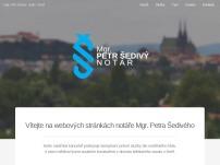 Mgr. Petr Šedivý - notář
