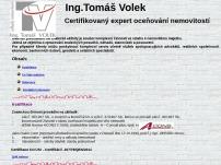 Ing. Tomáš Volek – ceny a odhady nemovitostí