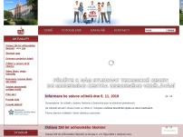 Obchodní akademie a Hotelová škola Turnov - školní jídelna