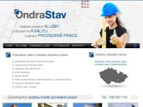 Ondrastav - stavební práce