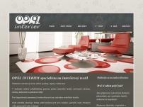 Opál Interier - návrhy a realizace interiérů - bytový textil
