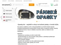 Opasky online