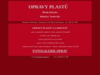 Opravy plastů - Bohuslav Vonšovský