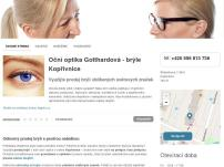 Oční optika Gotthardová – oční optika Kopřivnice