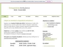 Ortopedická ambulance - MUDr. Tomáš Zmek