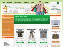 Second hand & outlet – velkosklad – e-shop