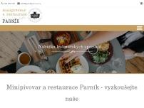 Minipivovar a restaurace Parník