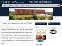 Ing. Ivana Feniková - Penzión FAKO