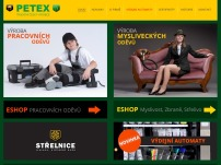 PETEX Jihlava s.r.o. - výroba a prodej pracovních a mysliveckých oděvů