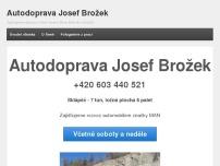 Autodoprava Josef Brožek