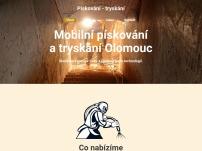 Pískovaní – tryskání Olomouc