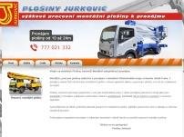 AUTOJEŘÁBY JURKOVIČ s.r.o. – pronájem mobilních plošin