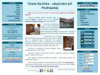 Chata Sovička - ubytovanie pri Podhajskej