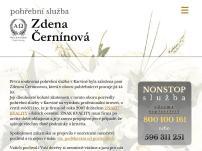 Pohřební služba – Zdena Černínová