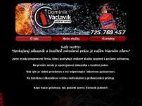 Dominik Václavík - požární servis